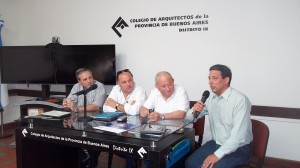 Arquitectos del país en Mar del Plata