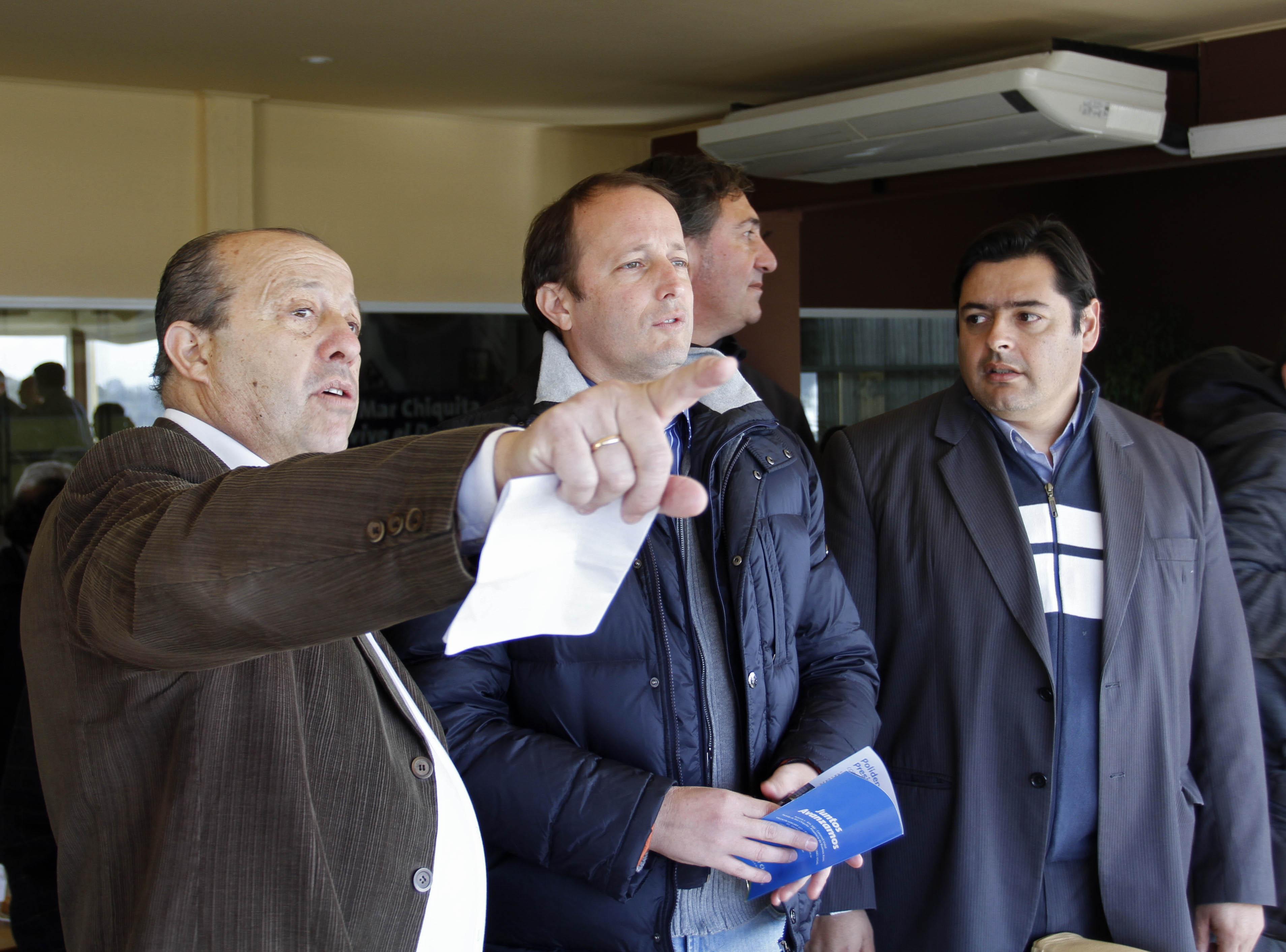 Duras críticas del intendente de Mar Chiquita a Massa, además demostró su apoyo a Insaurralde