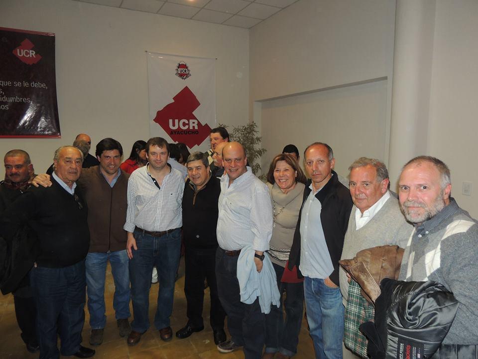 Referentes del MoReNa MdP en Ayacucho.