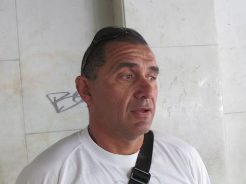 Pablo Cacharosky, titular de la Unión Guardavidas Agremiados (UGA).
