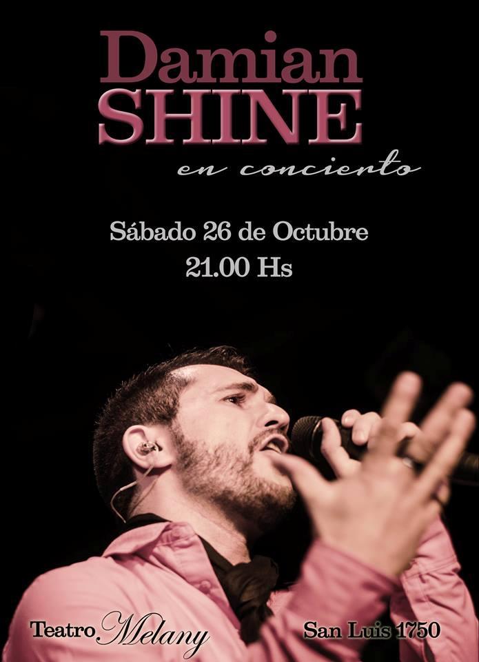 El artista presenta su nuevo disco el sábado 26 de octubre  a las 21 horas en la sala Melany - San Luis 1750-