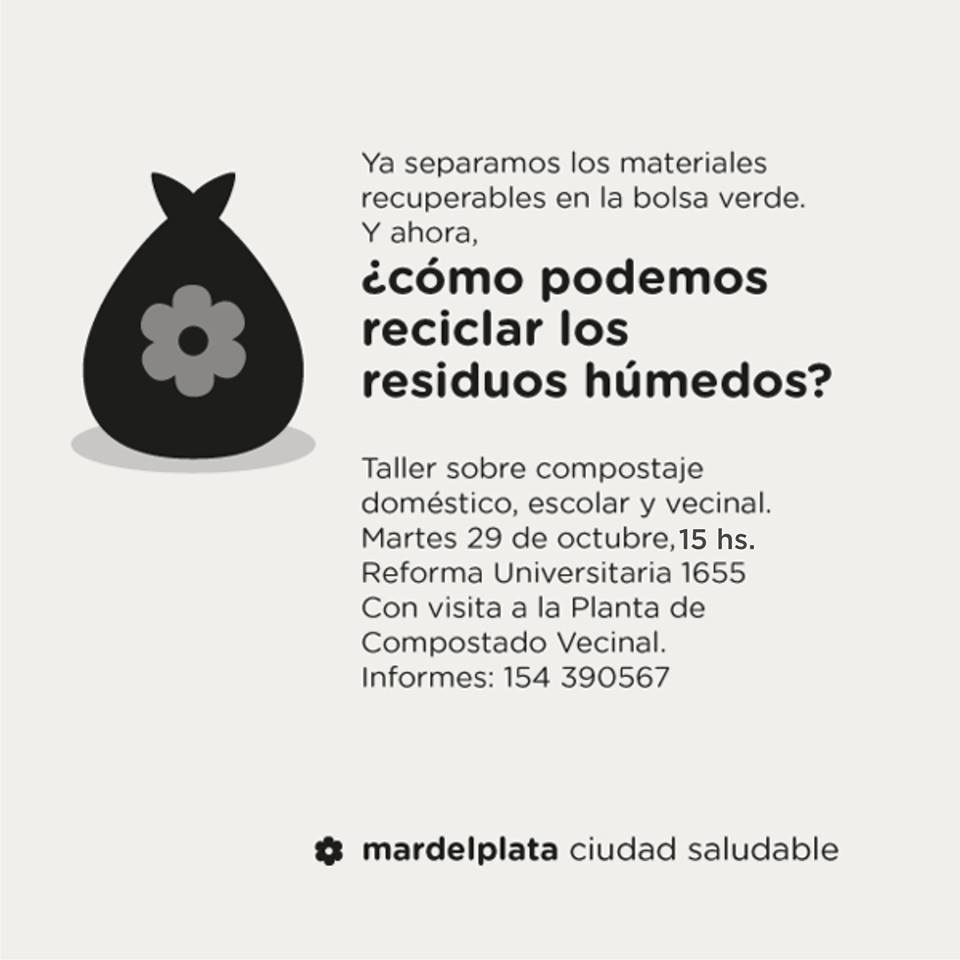 Fotos MGP - Capacitacion Residuos Solidos Urbanos en Bosque Grande