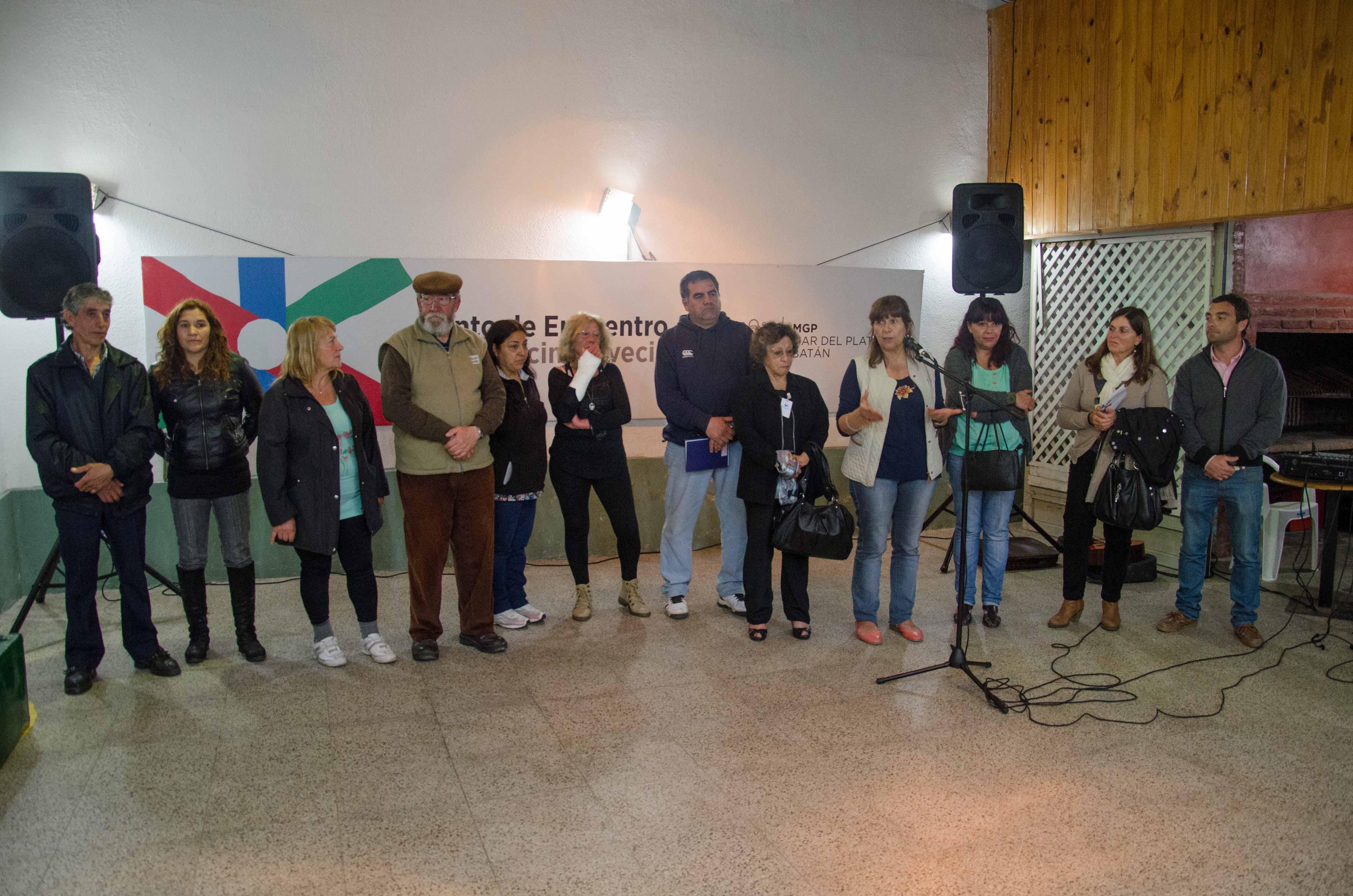 Fotos MGP - Desarrollo Social - Un nuevo Punto de Encuentro en el Norte de la ciudad