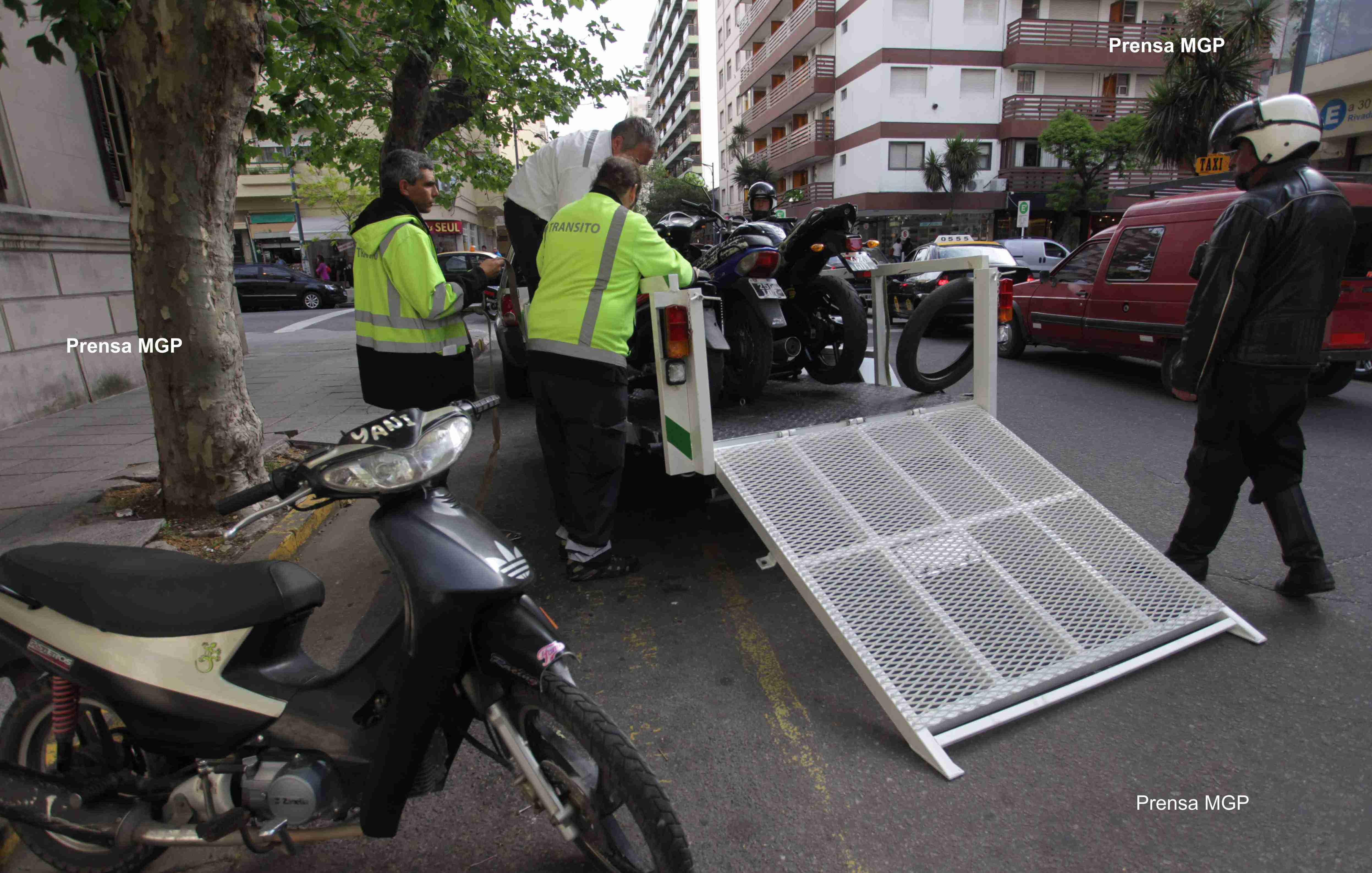 Foto MGP - Control - Movilidad Urbana - Tránsito - Motos