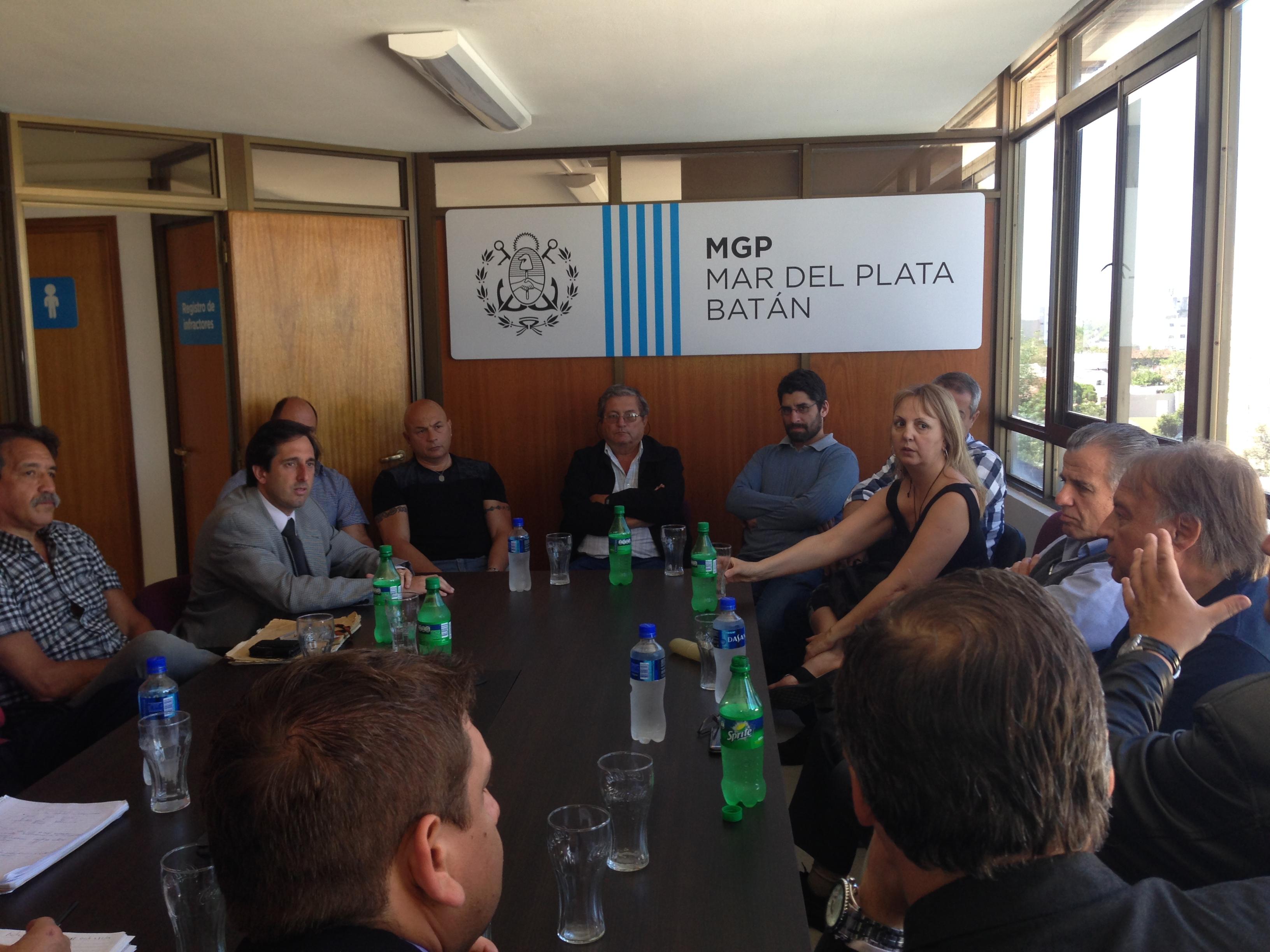 Foto MGP - Control - Reunión Multisectorial para el control de plantas pesqueras