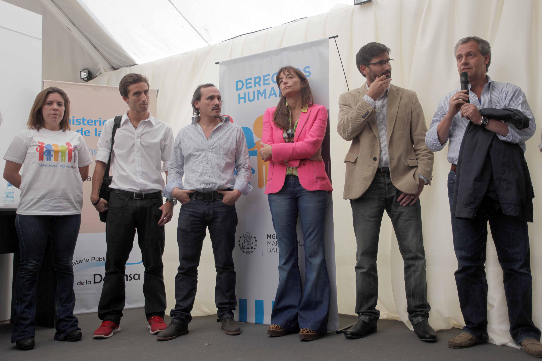 Foto MGP - Derechos Humanos - Inaguracion Celda en la Feria del Libro