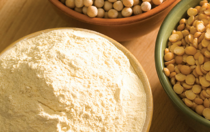 Nuevo desarrollo del Inti, harinas de legumbres