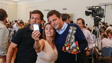Massa encabezó la reunión del Frente Renovador junto a intendentes y legisladores en Mar del Plata. (Fuente: Clarín)