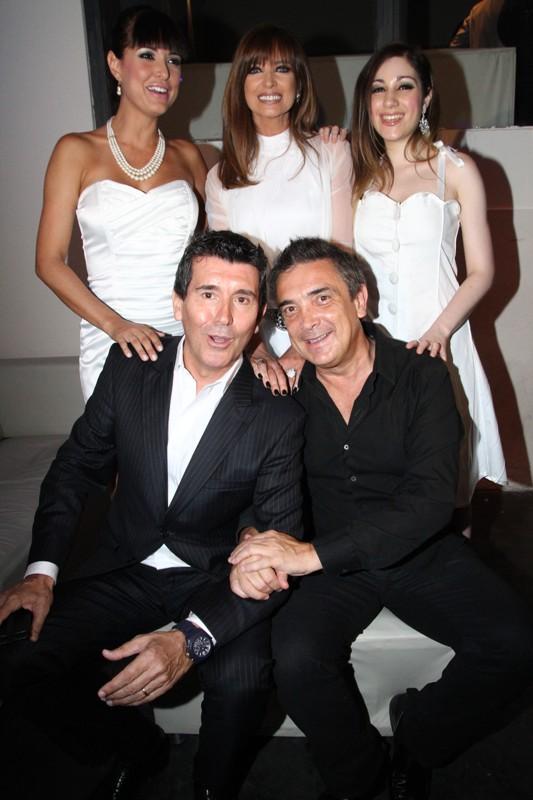 Andrea Estevez, Adriana Salgueiro, Kitty Locane, Nito Artaza y Miguel Angel Cherutti.