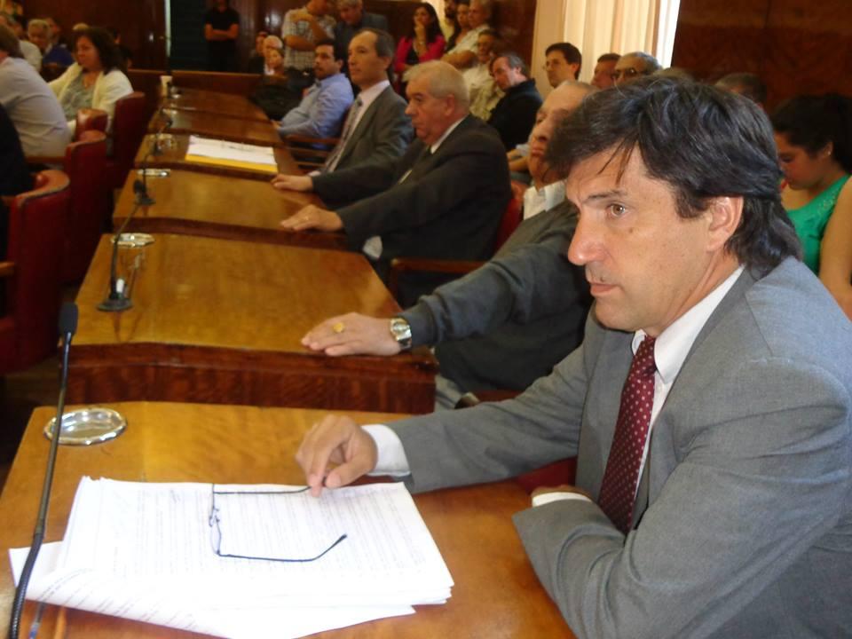 Concejal Mario Rodríguez (UCR)