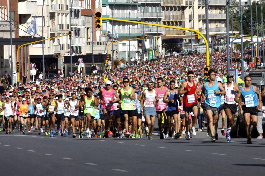 Foto MGP - Deporte - 24 maraton ciudad de Mar del Plata