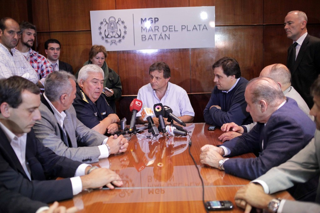 Foto MGP - Seguridad - conferencia de prensa Matzkin con Pulti 2
