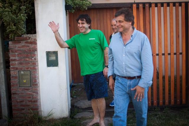 Fotos MGP - Pulti visito y saludo a Hernan Perez Orsi
