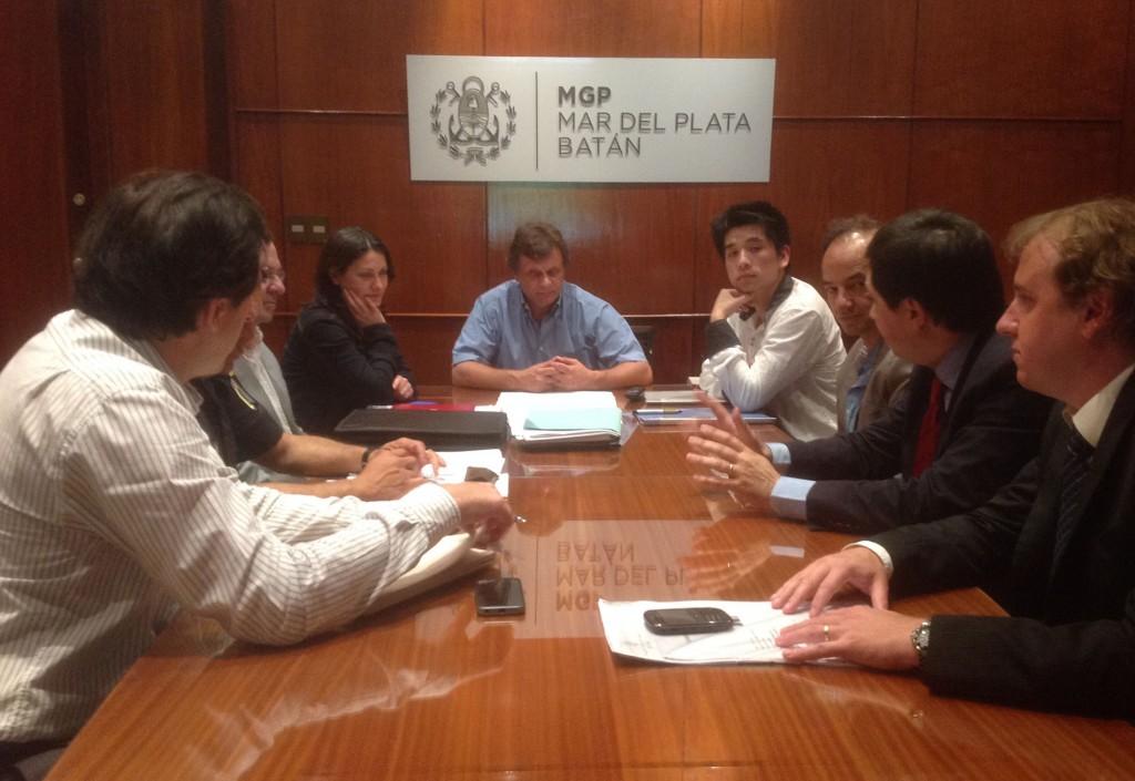 Fotos MGP - Seguridad - Reunion con Supermercadistas Chinos