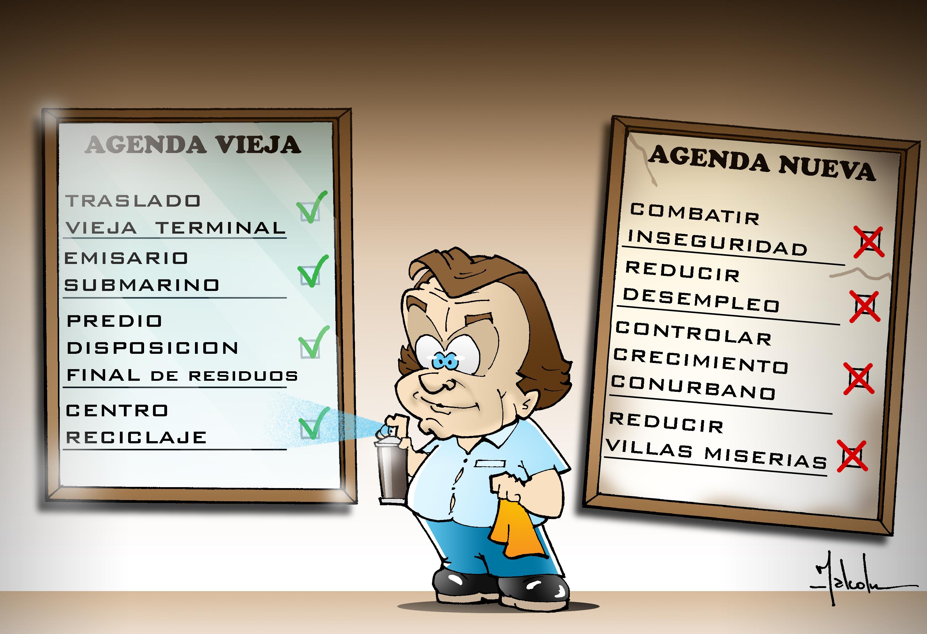 Las Agendas de Gustavito Pulti