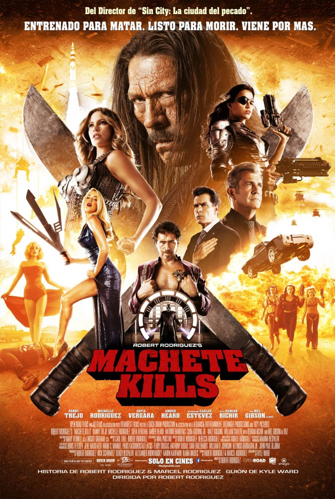 POSTER Machete Kills B