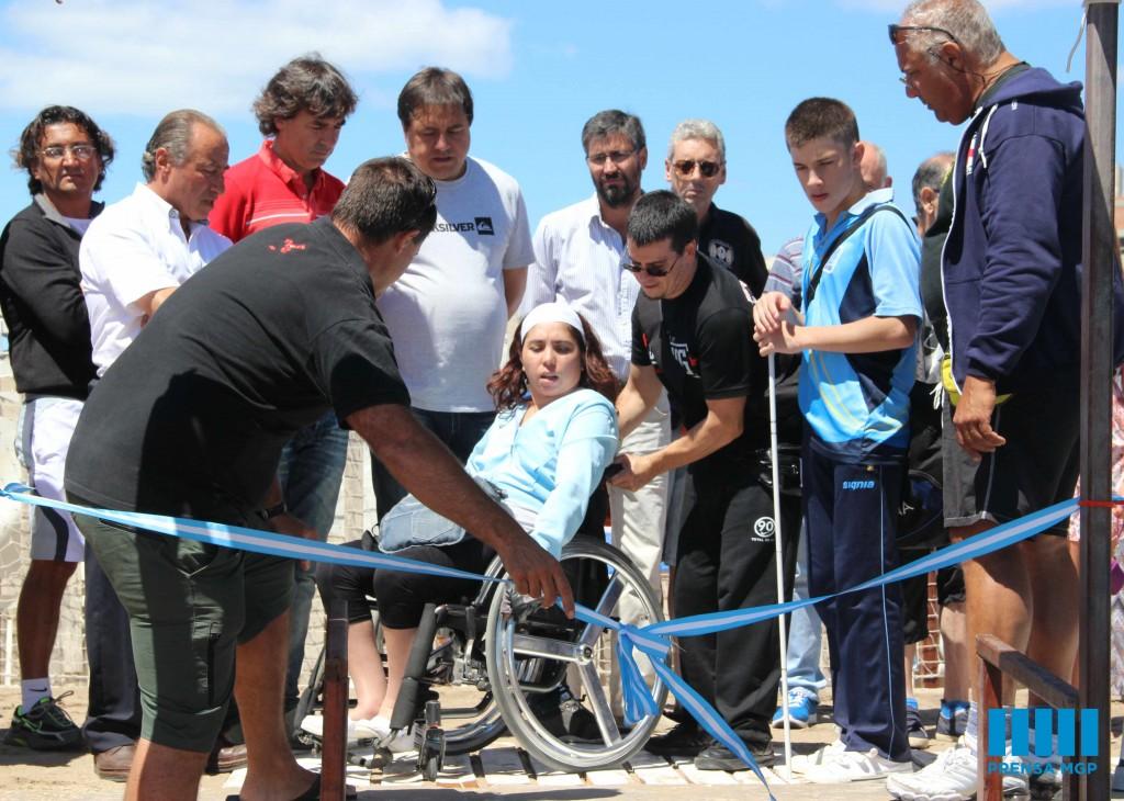 Foto MGP - Derechos HUmanos - Balneario Accesible  en Perla Norte 2
