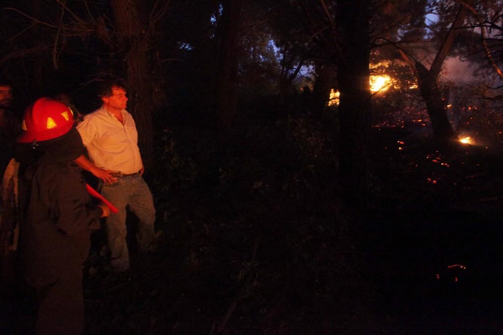 Fotos MGP - Incendio en Sierras 2