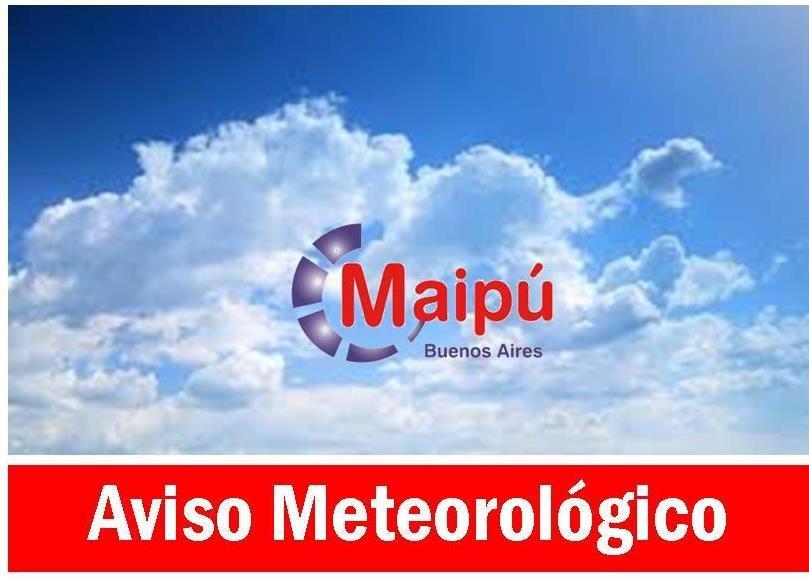 MAIPU AVISO METEOROLOGICO
