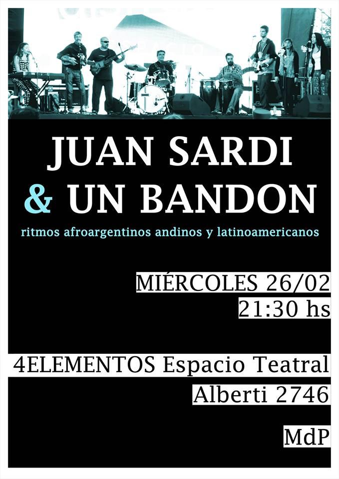 Afiche Juan Sardi
