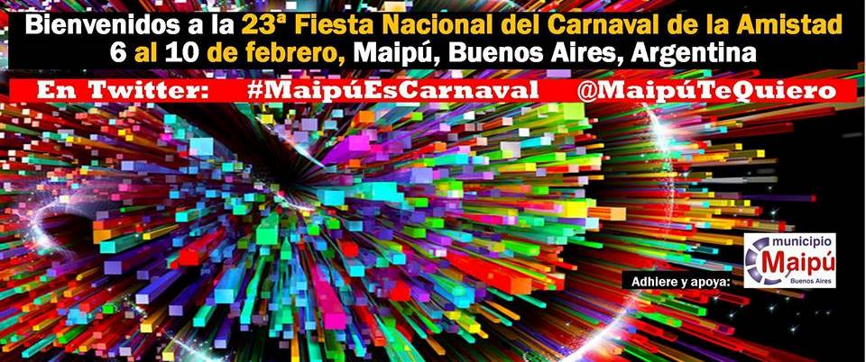 Banner BIENVENIDO CARNAVAL 2014
