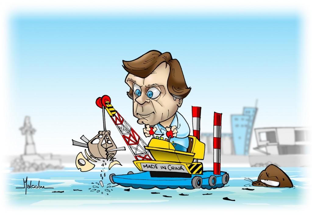 Mdphoy-004-Caricatura Pulti-y-la-Draga