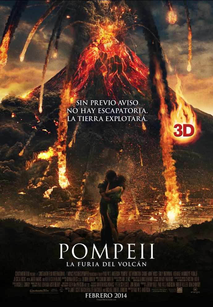 POMPEII boceto poster