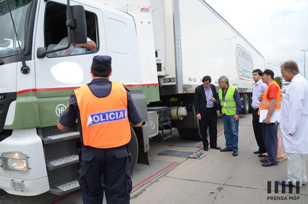 Seguridad - Control - Verificaci+¦n de Peso de camiones 2