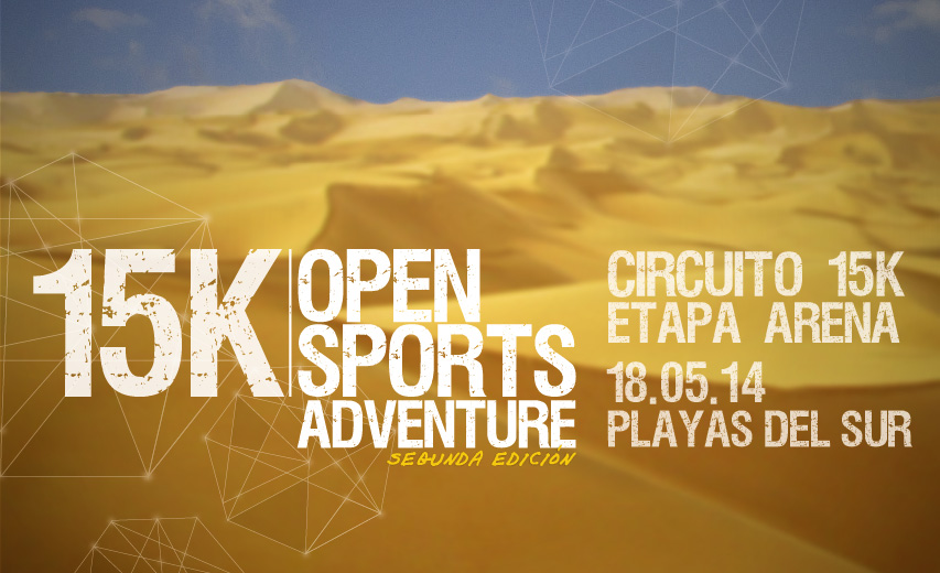 Flyer Etapa Arena 15k Open Sports