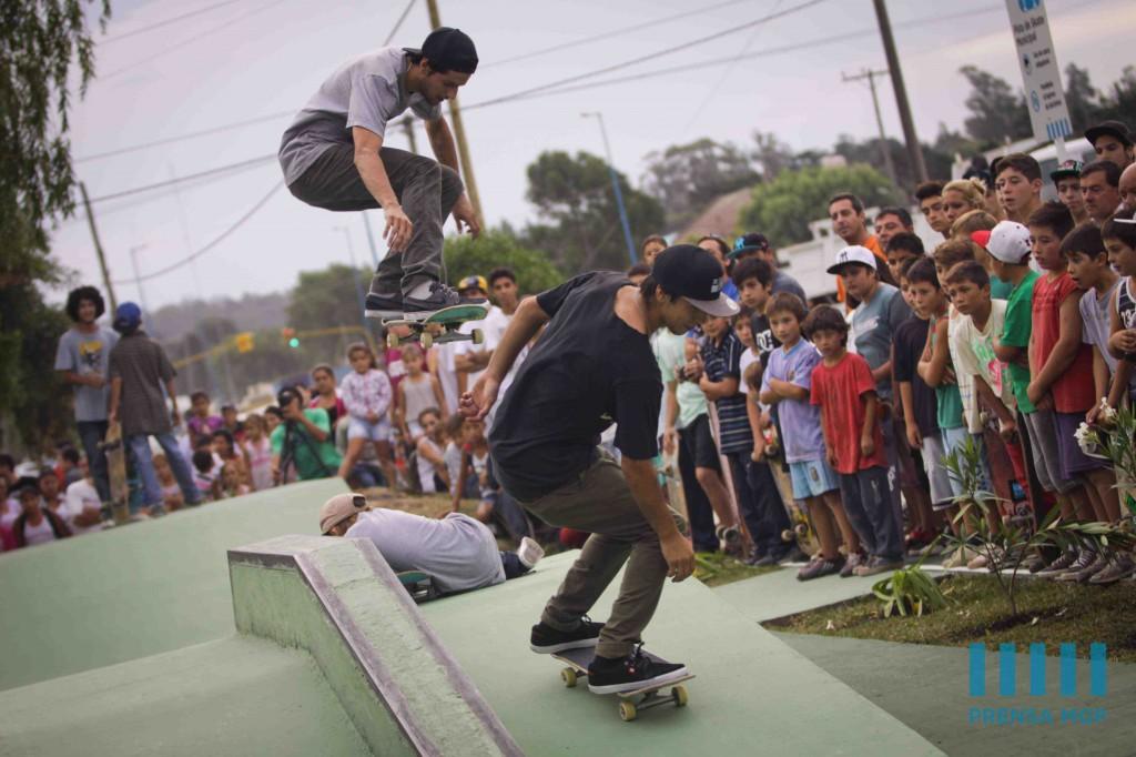 Foto MGP - Intervenciones Urbanas - nuevo SkatePark