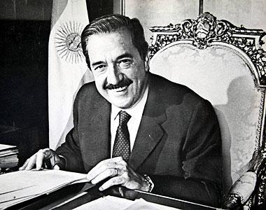 Foto Raúl Alfonsín