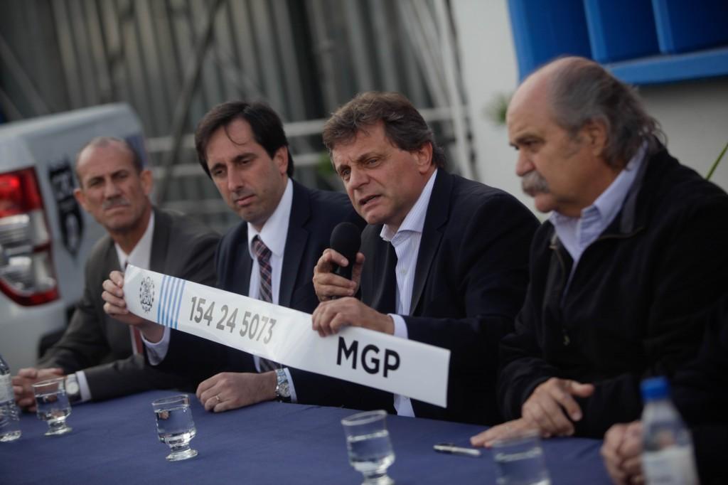 Foto MGP - Seguridad - Comando de Patrullas  ploter de telefonos