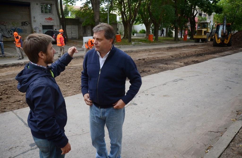 Fotos MGP - Vialidad - trabajos en avenida Libertad - 2