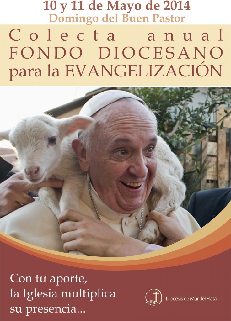 Afiche Fondo Diocesano para Evangelizacion