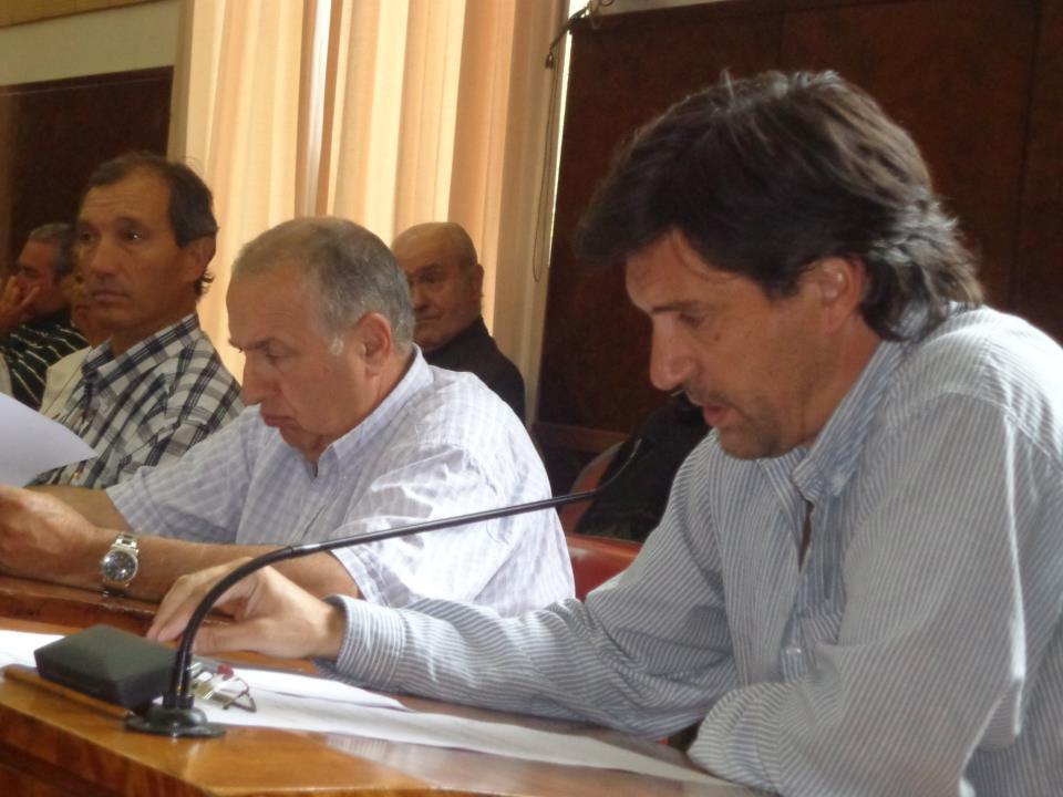 Concejal Rodríguez en la Mesa de Trabajo sobre Seguridad