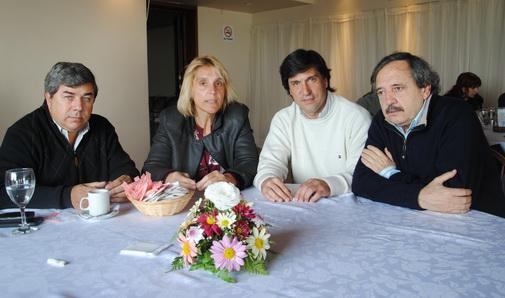 Fernández, Baragiola, Rodríguez y Alfonsín