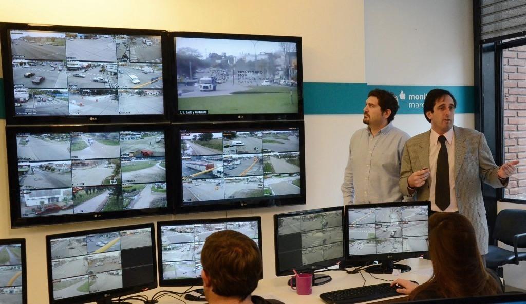 Foto MGP - Seguridad - Centro Municipal de Monitoreo - nuevos hechos