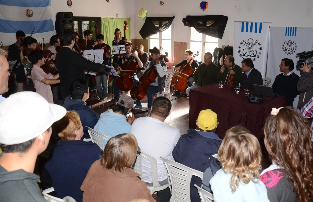 Fotos MGP - Cultura - Presentacion Orquesta Municipal Infanto Juvenil