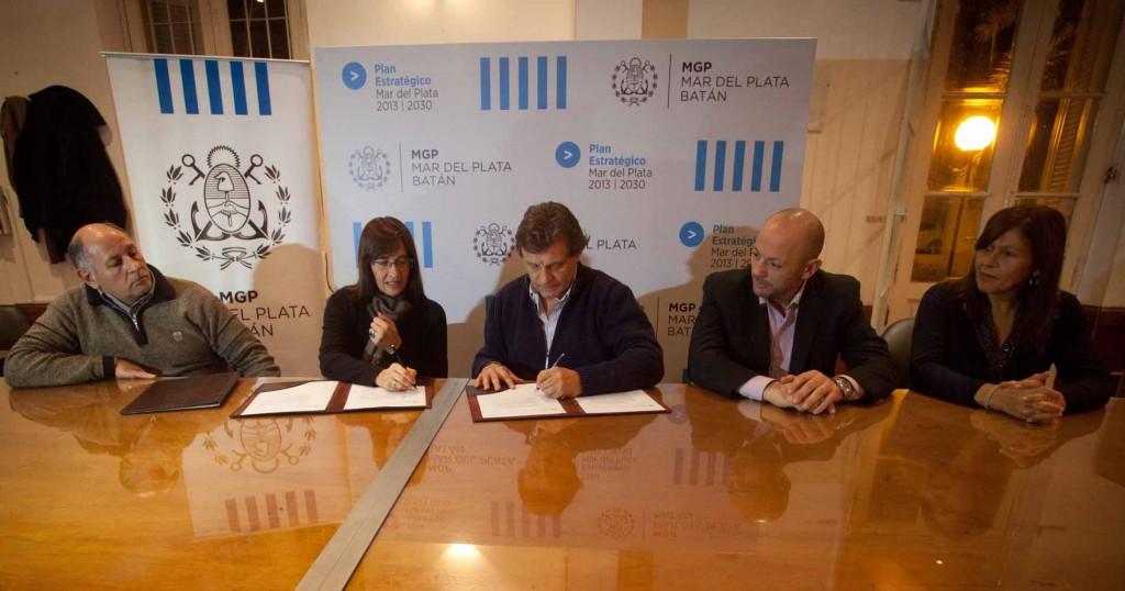 Fotos MGP - Desarrollo Social - Firma de convenio con Aldeas Infantiles