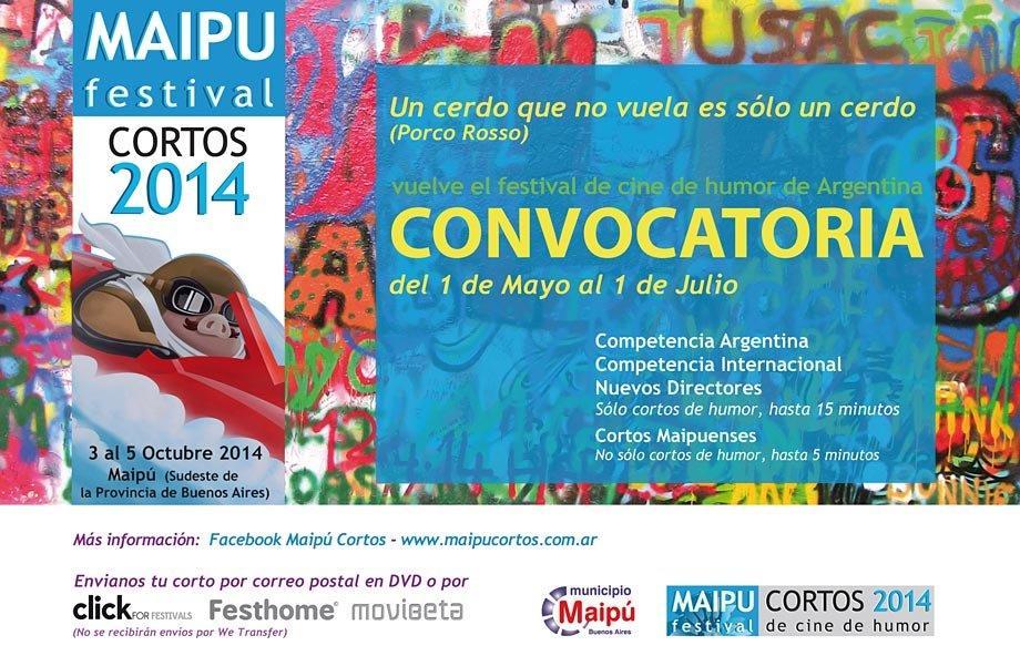 MAIPU CORTOS 2014 - Convocatoria - Auspicia Mun. Maipu