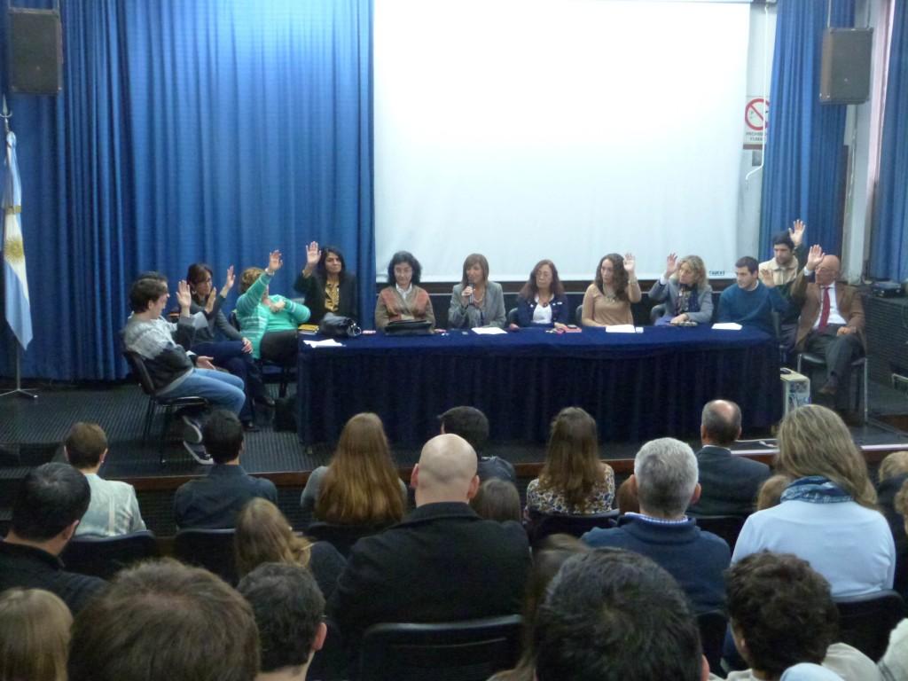Votación Unánime Consejo Academico