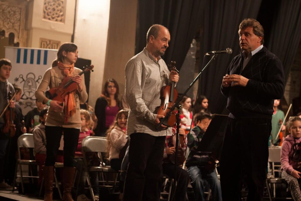 Fotos MGP - La Orquesta Municipal Infanto Juvenil ya cuenta con 700 chicos -1