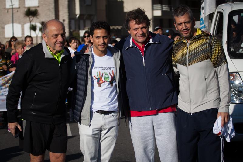 Fotos MGP - Salud - Caminata Dia de la Donacion de Organos - Ferro - D Fernandez - Pulti - Cristaldi