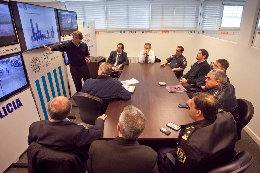 Fotos MGP - Seguridad - Balance Centro de Analisis Estrategico del Delito 1