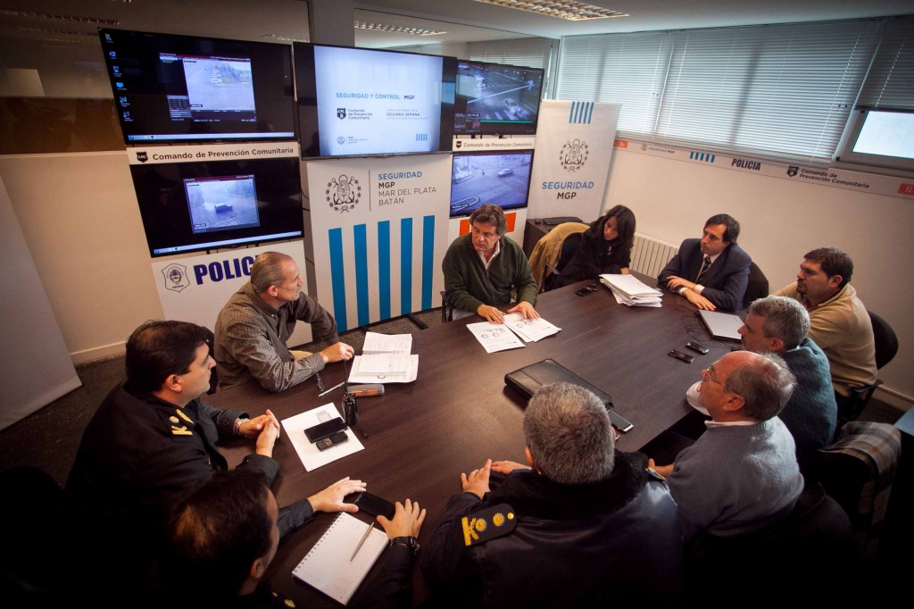 Fotos MGP - Seguridad - Reunion CPC - Balance segunda semana