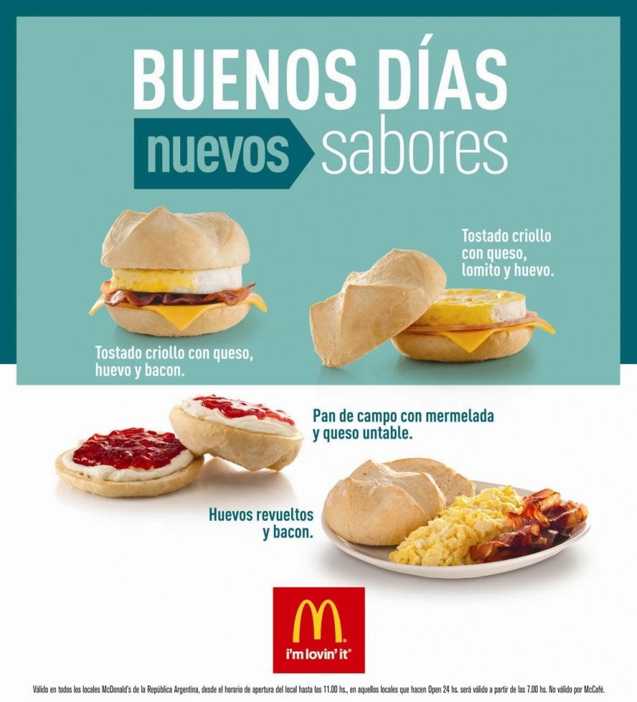Nuevos Desayunos McDonalds