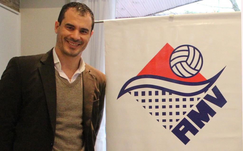 CONDUCCIÓN. Fabián Altamirano, con muchos objetivos al frente de la asociación.