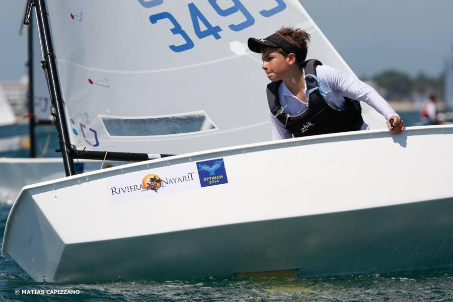 Torneo Norteamericano de Optimist: segundo día de regatas