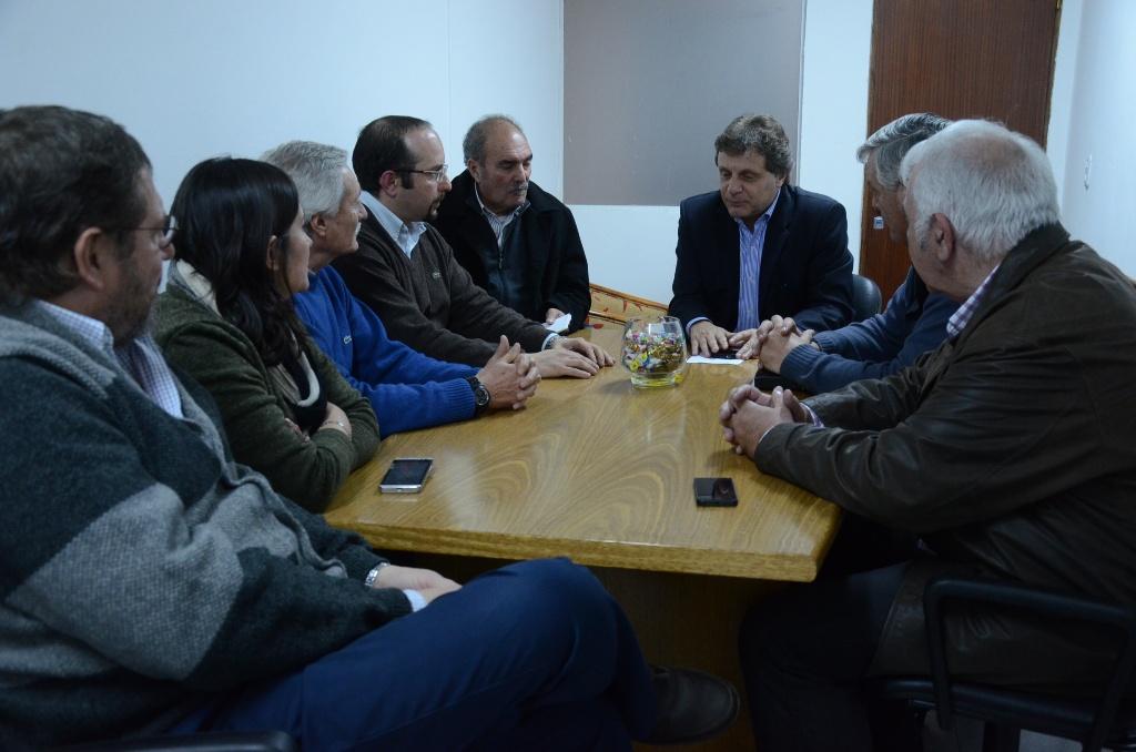Fotos MGP - Planeamiento Urbano - Reunion con representantes del sector de la construccion