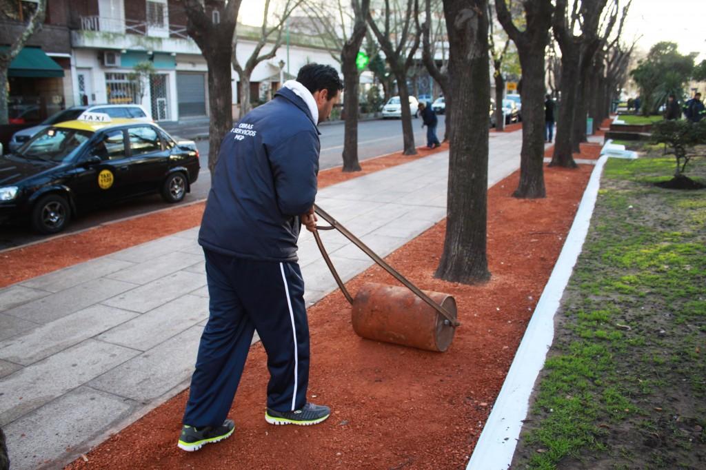 Fotos MGP - Servicios Urbanos - Puesta en valor de la Diagonal Pueyrredon 1